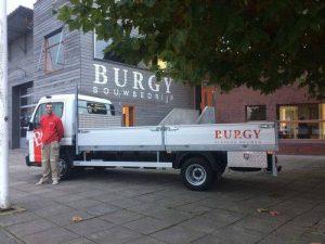 Boonstoppel Truckservice - Fuso Bedrijfswagen met open laadbak en klep