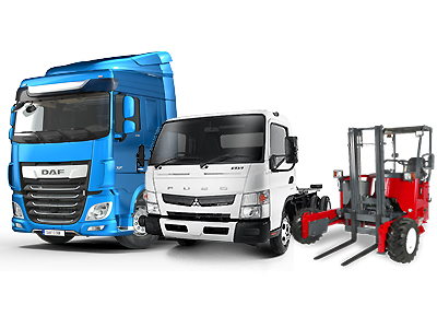 Boonstoppel Truckservice Voorraad - DAF - FUSO - MOFFETT